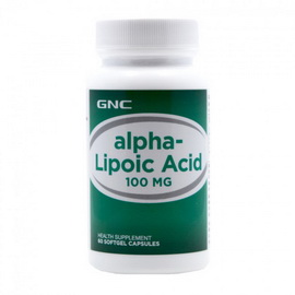 Alpha-Lipoic Acid 100 mg (60 softgels)