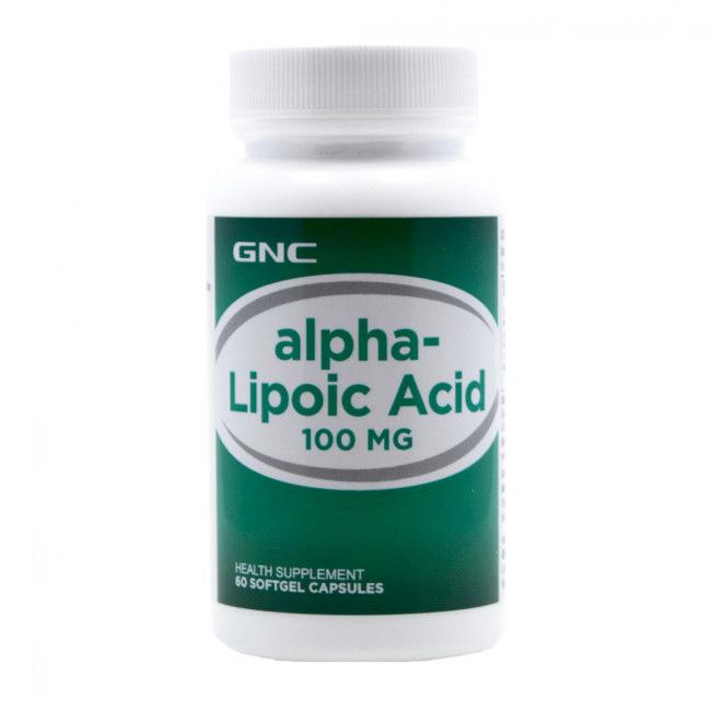 Alpha-Lipoic Acid 100 mg (60 softgels)