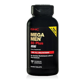 Mega Men 50 Plus Mini (90 tabs)