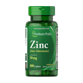 Chelated Zinc 50 mg (100 caplets)