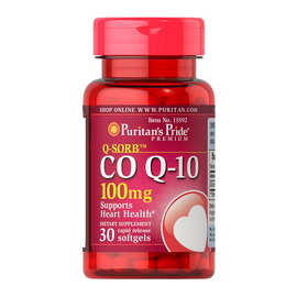 CO Q-10 100 mg (30 softgels)