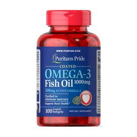 Omega-3 Fish Oil 1000 mg (100 softgels)