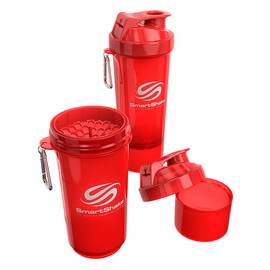 SmartShake Slim NEON Red (500 ml)