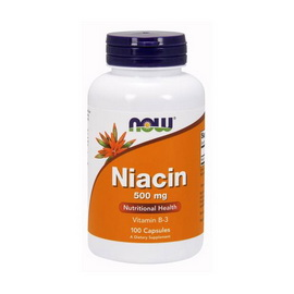 Niacin 500 mg (100 caps)
