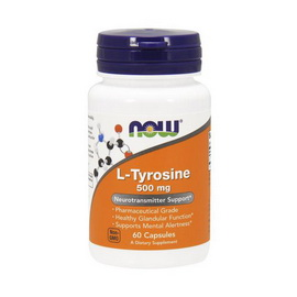 L-Tyrosine 500 mg (60 caps)