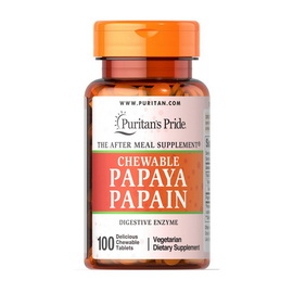Chewable Papaya Papain (100 chew tabs)