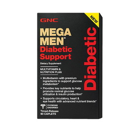 Mega Men Diabetic Support (90 caplets)