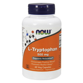 L-Tryptophan 500 mg (60 veg caps)