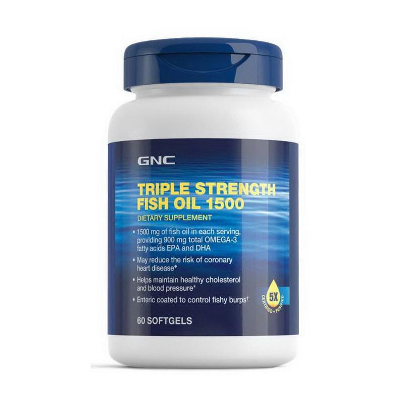 Triple Strength Fish Oil 1500 (60 softgels)