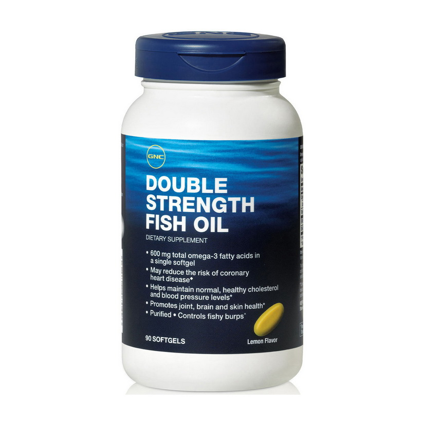 Double Strength Fish Oil (90 softgels)