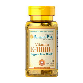 Vitamin E-1000 IU (50 softgels)