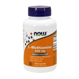 L-Methionine 500 mg (100 caps)