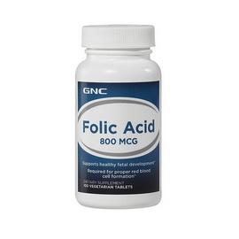 Folic Acid 800 mcg (100 veg tabs)