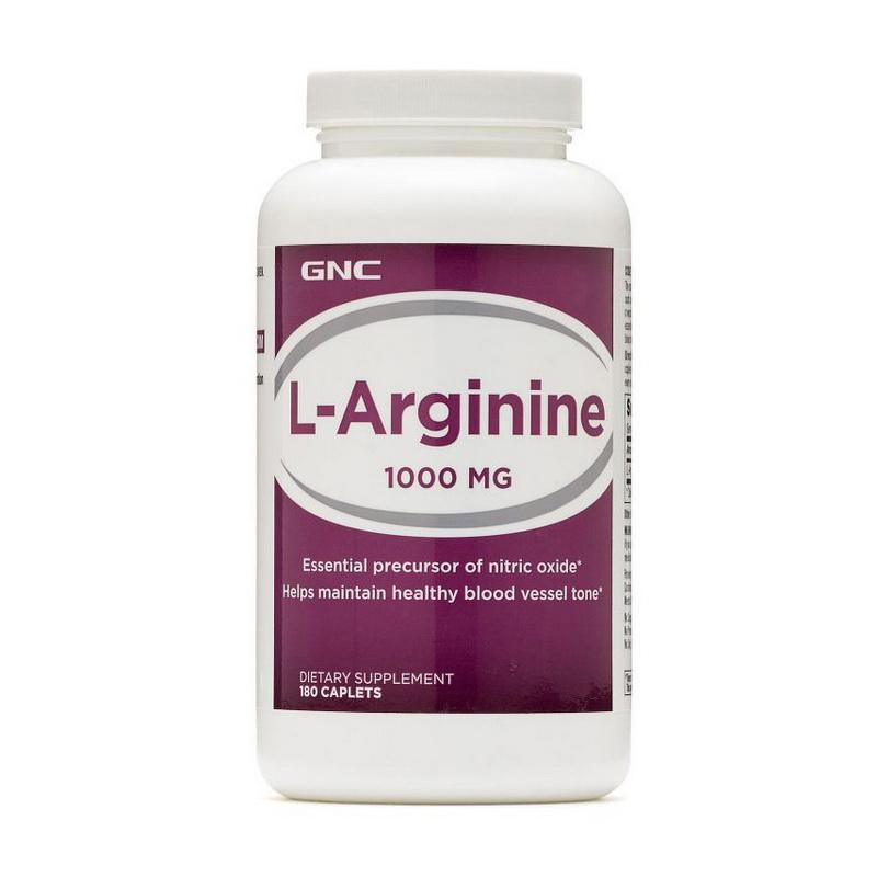 L-Arginine 1000 (180 caplets)