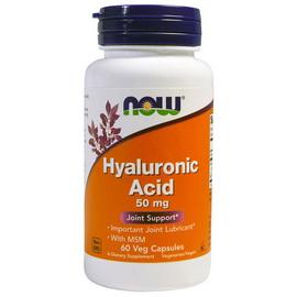 Hyaluronic Acid 50 mg (60 veg caps)