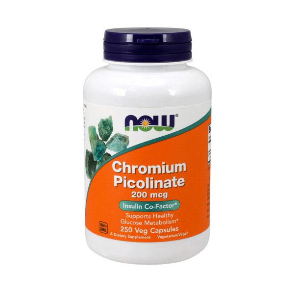 Chromium Picolinate 200 mcg (250 caps)