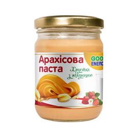 Арахис. паста хрустящая с клубникой (250 g)