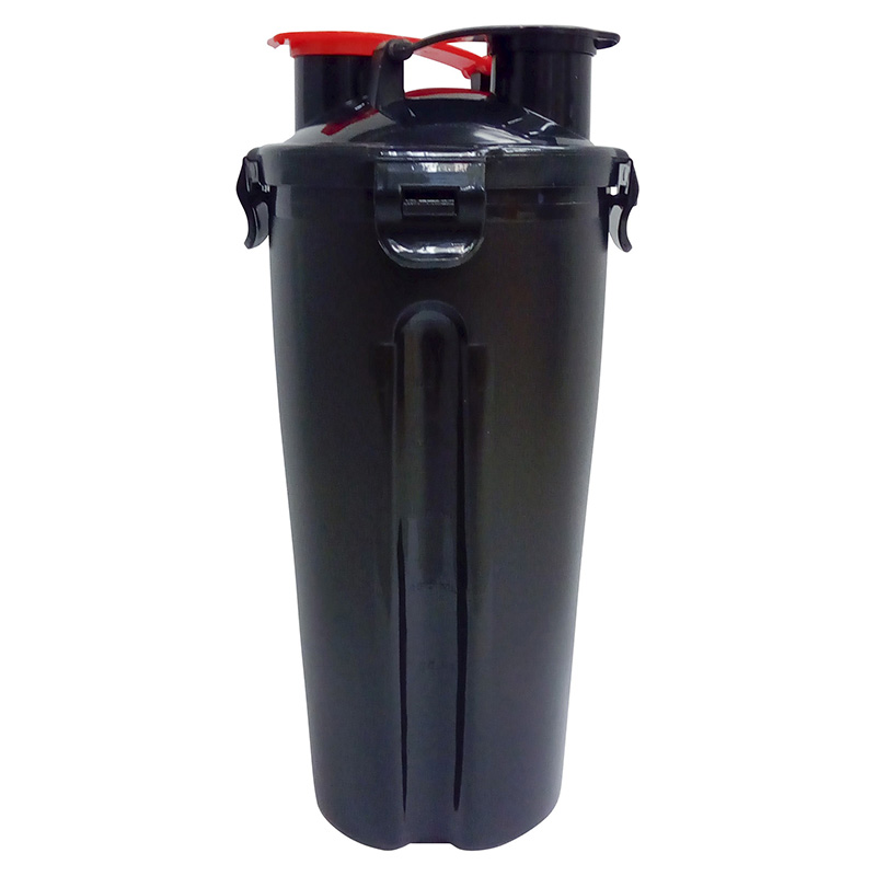 Shaker Dual HydraCup Black (1000 ml)