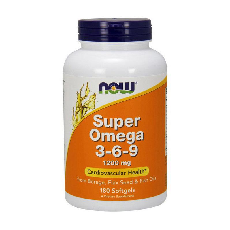 Super Omega 3-6-9 1200 mg (180 softgels)
