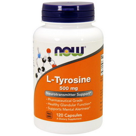 L-Tyrosine 500 mg (120 caps)