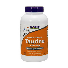 Taurine 1000 mg (250 veg caps)