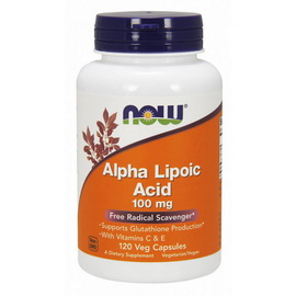 Alpha Lipoic Acid 100 mg (120 veg caps)