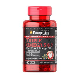 Maximum Strength Triple Omega 3-6-9 (60 softgels)