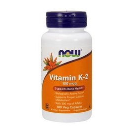 Vitamin K-2 100 mcg (100 veg caps)
