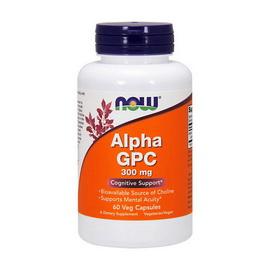 Alpha GPC 300 mcg (60 veg caps)