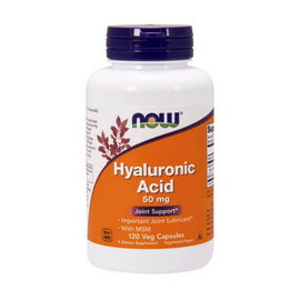 Hyaluronic Acid with MSM (120 veg caps)