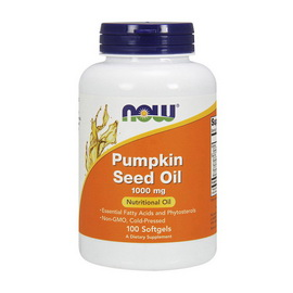 Pumpkin Seed Oil 1000 mg (100 softgels)