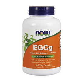 EGCg Green Tea Extract 400 mg (180 veg caps)