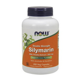 Double Strength Silymarin 300 mg (200 veg caps)