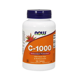 C-1000 with Rose Hips & Bioflavonoids  (100 tabs)