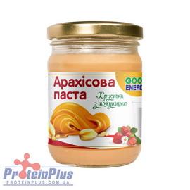 Арахис. паста хрустящая с клубникой (180 g)