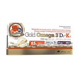 Gold Omega-3 D3+K2 (30 caps)