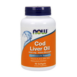 Cod Liver Oil 1000 mg (90 softgels)