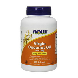 Virgin Coconut Oil 1000 mg (120 softgels)