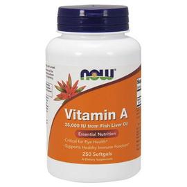 Vitamin A 25000 (Fish Liver Oil) (250 softgels)