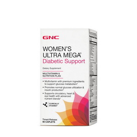 Women`s Ultra Mega Diabetic (90 caplets)