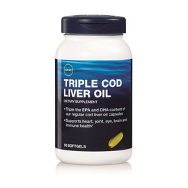 Triple Cod Liver Oil (90 softgel)