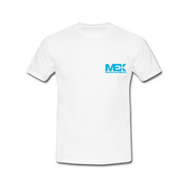 MEX T-Shirt White (S, M, L, XL, XXL)
