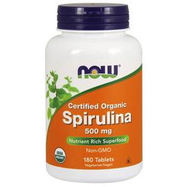 Spirulina 500 mg Organic (180 tabs)
