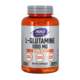 L-Glutamine 1000 mg (120 caps)