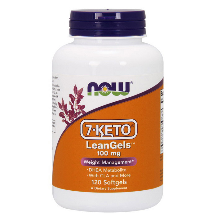 7-KETO LeanGels 100 mg (120 softgels)