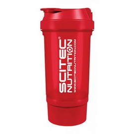 Scitec Traveller Shaker Red (500 ml)