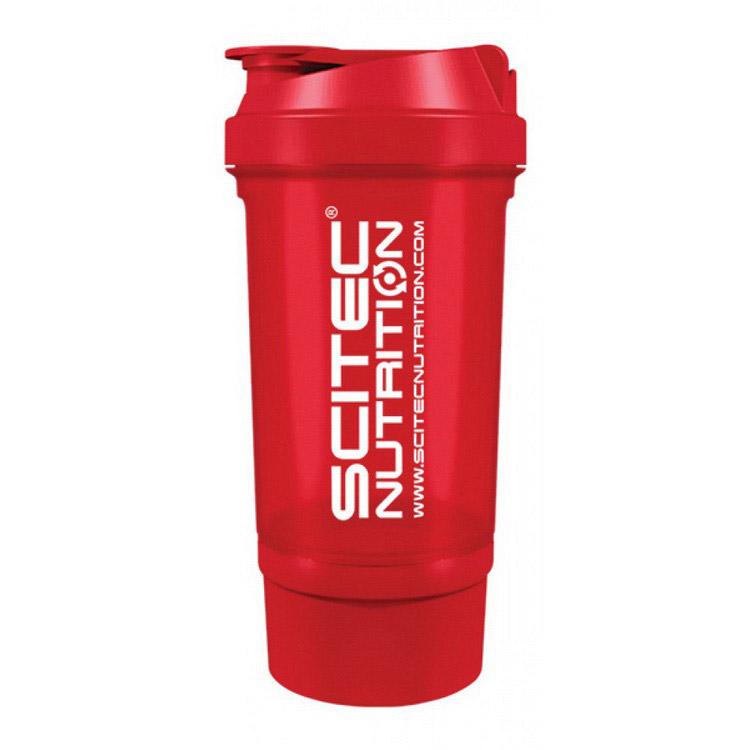 Scitec Traveller Shaker Red (500 ml)