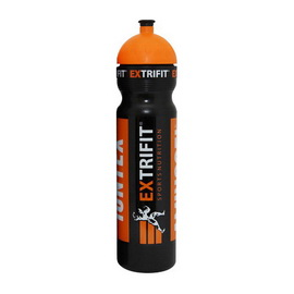 Bottle Extrifit Short Nozzle Black (700 ml)
