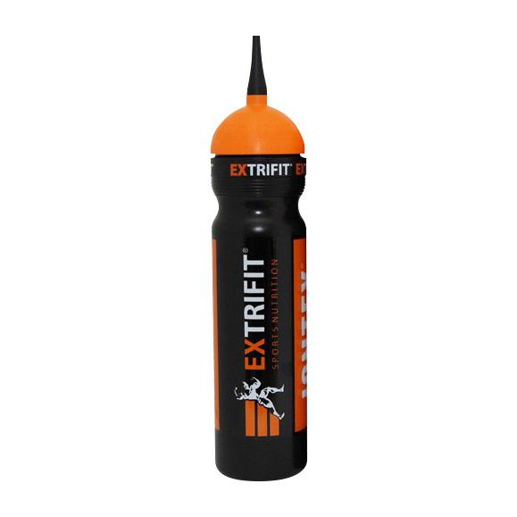 Bottle Extrifit Long Nozzle Black (700 ml)