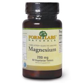 Magnesium 200 mg (60 veg tabs)